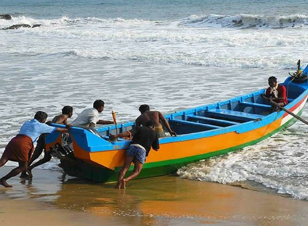 Rybár v Indii