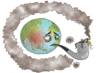 Odpady a globálne otepľovanie