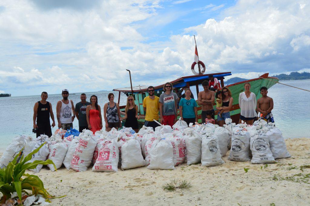 Čistenie pláže