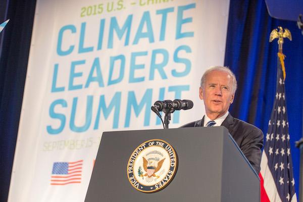 Joe Biden klimatická zmena