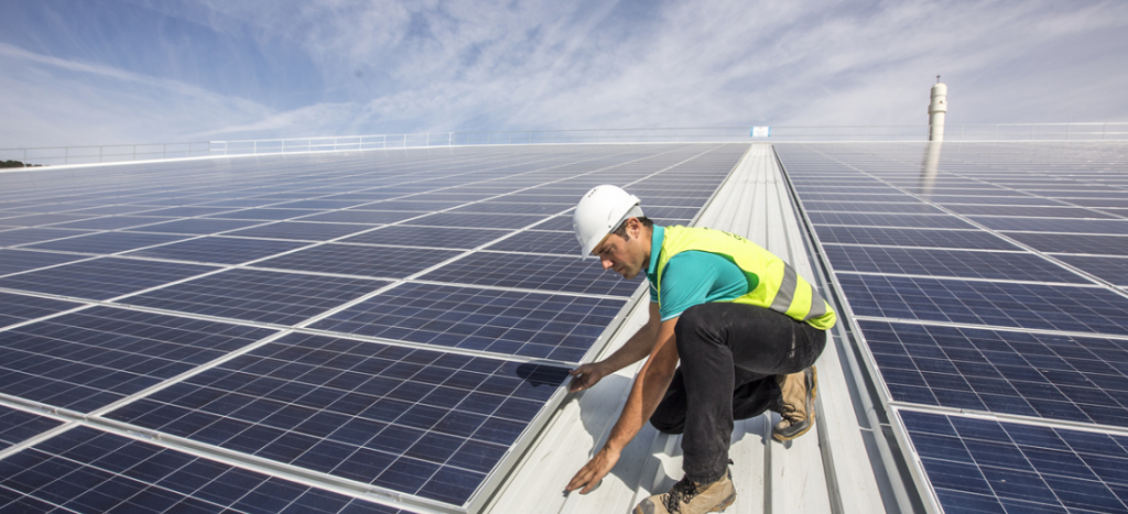 Výstavba solárnej elektrárne v USA